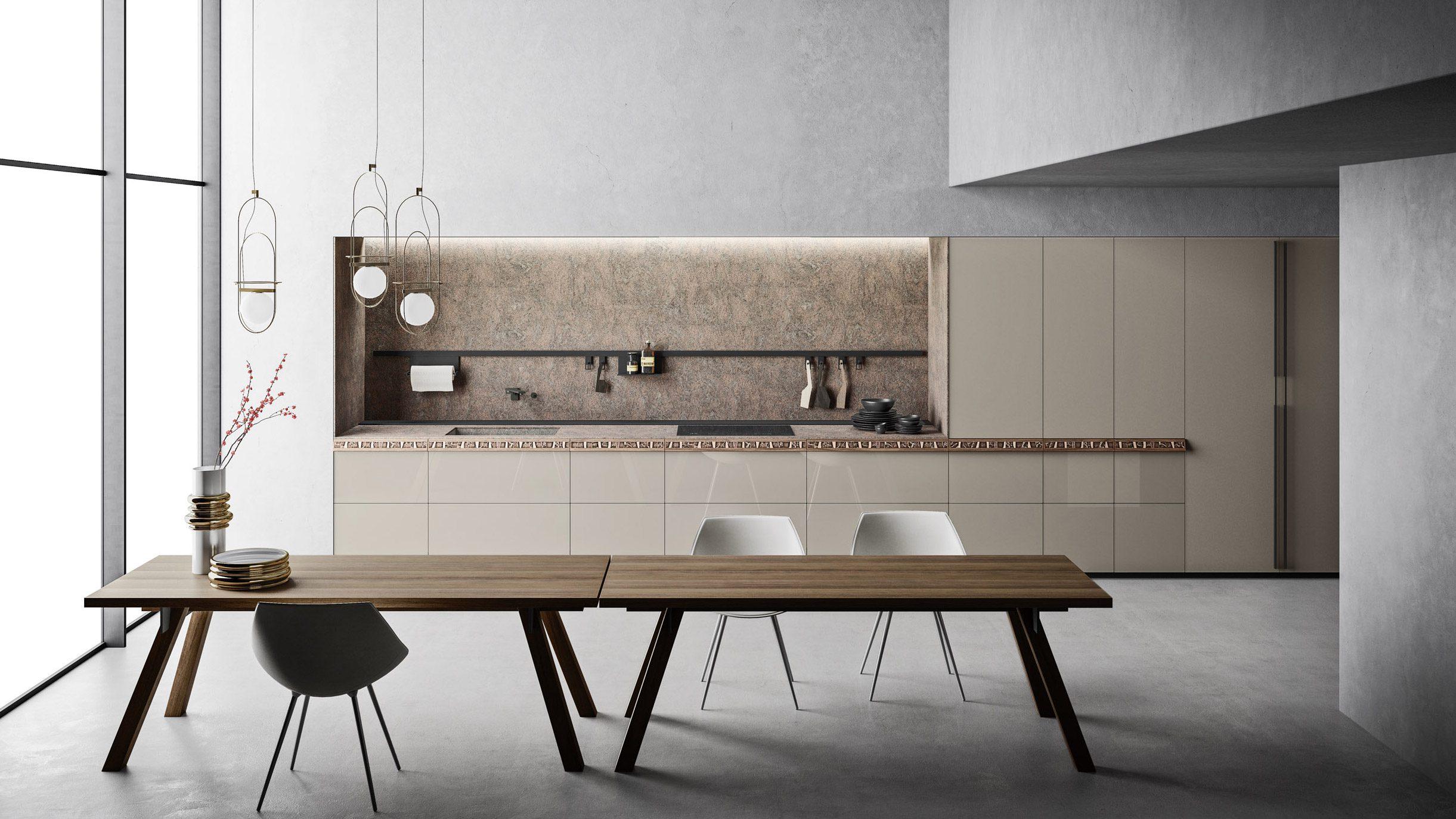 Küche Genius Loci von Valcucine