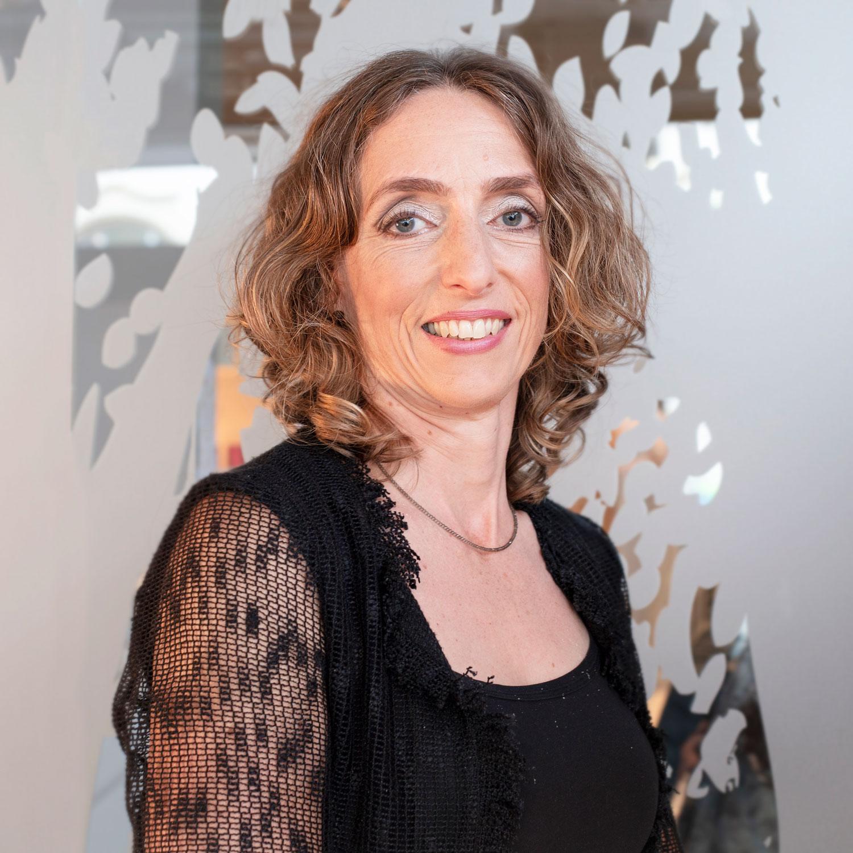 Porträtaufnahme von Bettina Scheible